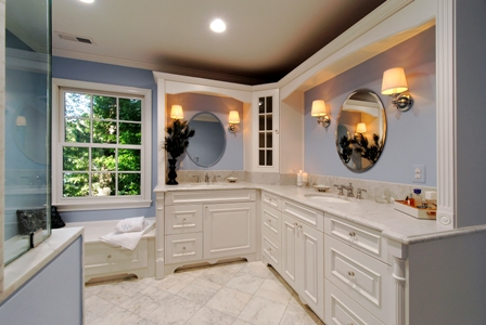 We Took The Old Fashioned 8 X 10 Bathroom And Transformed It Into An Amazing Oasis For Two